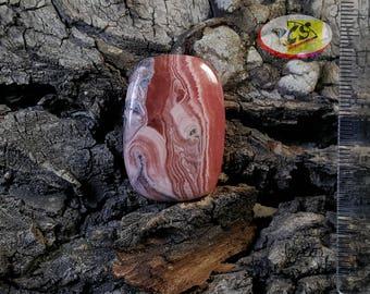 CS0272 - Rhodochrosite Cabochon