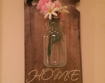 Home Hanging Sign