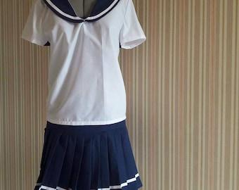 Sailor Fuku - Japanese sailor style school uniform / cosplay