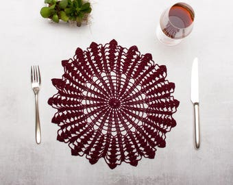 Crochet Placemat - Limited Edition