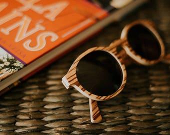 Wood eyeglasses, Wooden sunglasses, Round sunglasses, Bridesmaid gift, Summer eyewear, Geschenk fur sie, Geburtstagsgeschenk, Gravierte, Sun