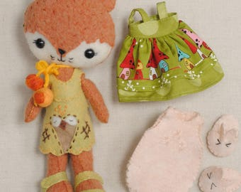 Gingermelon Woodland Wool Fox