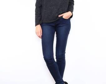 Sweater Bare shoulders ruffle