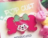 Lolita Poochie Valentine Lapel Pin