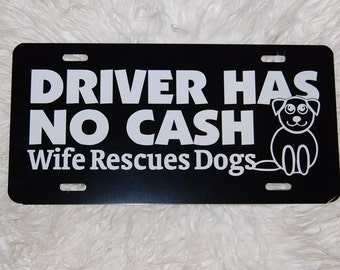 Dog Driver License Etsy
