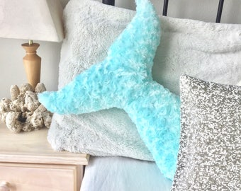 mermaid bedroom decor. Mermaid Decor Pillow Tail Room Bedroom Nursery Dorm Turquoise Under  the Sea Pillows Kids Teens decor Etsy