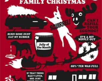Griswold Family Christmas T-shirt Transfer Instant Download & Print
