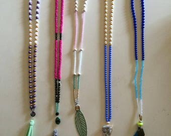 Boho Necklaces, Handmade Necklaces, Beaded Necklaces