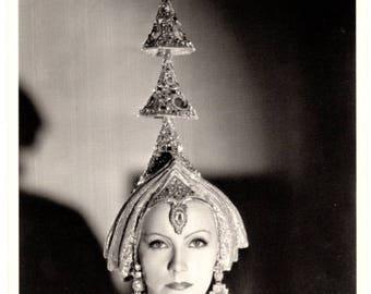 Greta Garbo Mata Hari 1931 Photo Postcard Photograph by CS Bull Fotofolio 1980's