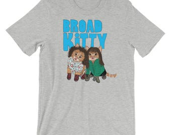 Broad Kitty (Broad City) Unisex short sleeve t-shirt