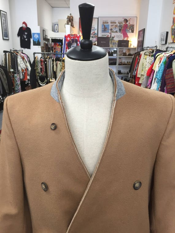 Maison Margiela for H&M Wool Overcoat with Inverted Lapel