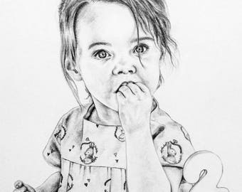 Personal portrait - Toddler example