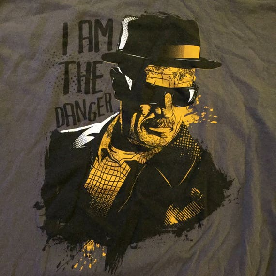 Breaking Bad  Walter White T shirt (Med) Heisenberg