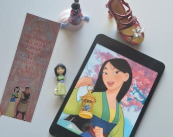 Mulan Bookmark
