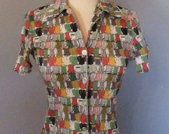 70s Button-up Shirt
