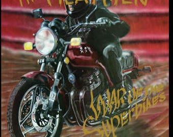 Meatmen - War of the Superbikes Clear Vinyl LP