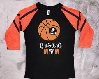Basketball Mom Raglan