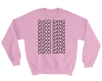 Gucci Gang Inspired Crewneck