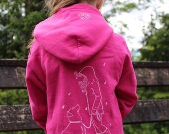 Children's Fall Rain Hoodie!