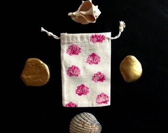 Little pouch - bag - Sea shell