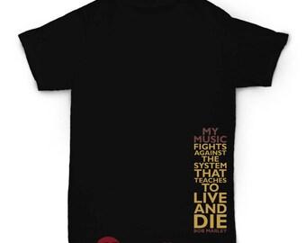 Bob Marley Tshirt, Reggae Tshirt, Hip Hop Tshirt, Stoner Clothing, Music Tshirt, Positive Tshirt, Apparel, Streetwear, Skater, Vintage