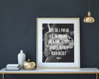 Simple Things Lyrics - Miguel   Printable Wall Art With Instant Download