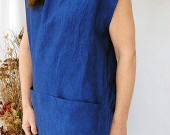 Linen Tunic Dress/Top
