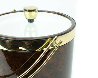 Kraftware Ice Bucket with Acrylic Lid
