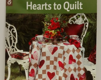 Sentimental Hearts to Quilt by Tricia Cribbs, published by Leisure Arts in 2016