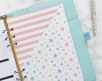 Stars & Stripes Pocket Folder | Planner Pocket | Pocket Divider | Pocket Dashboard - A5