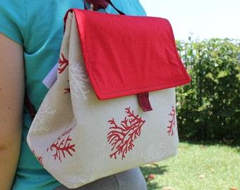Cloth Convertible Backpack bag
