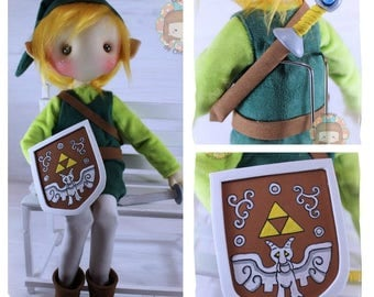 Doll nugget Toon Link 42 cm. Toon Link doll 16 ""