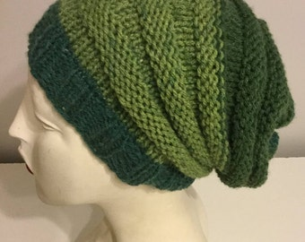 My Squishy - Slouchy Green Hat