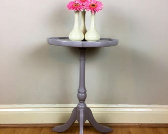 Hand painted occasional table in Annie Sloan Chalk Paint