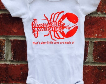Crawfish onesie