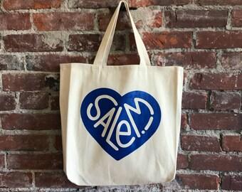Salem! Heart Tote Bag