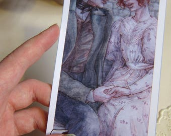 The LOVERS - Les Mis Tarot Card - Giclée Print