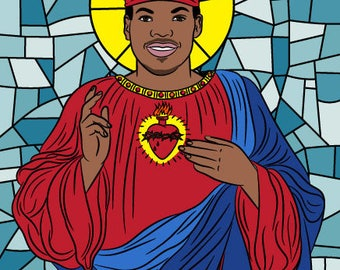 CHANCE THE RAPPER, prayer candle, chance the rapper candle, Saint Chance the Rapper, Chance coloring book, acid rap, hip hop gift, chance 3