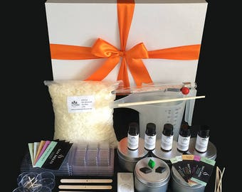 Deluxe Candle Making Kit Gift Boxed