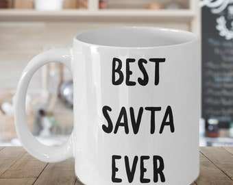 Gift for Savta - Savta Coffee Mug - Best Savta Ever Ceramic Coffee Cup Tea Mug