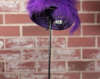 Vintage feather hat