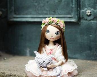 Interior doll Fabric doll Beautiful doll Buy a doll Art dolls Boudoir doll Textile doll Cloth doll Decorative doll Custom cloth doll