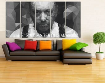 House of Cards Wall Art, Frank Underwood Poster, Kevin Spacey Poster, Frank Underwood Wall Art, House of Cards TV series, Film art LC99