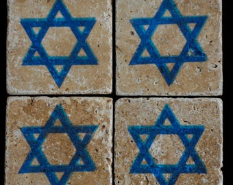 Star of David Coasters