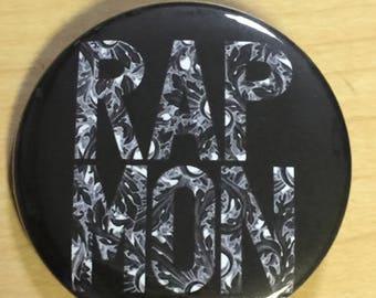Rap Monster-BTS-Kpop 2.25 inch button pinback-NEW
