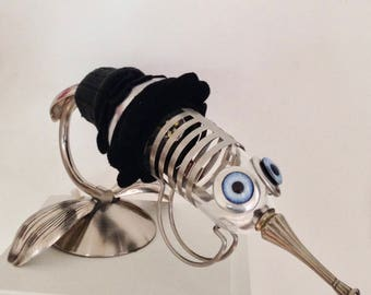 Raw art lamp mosquito bird