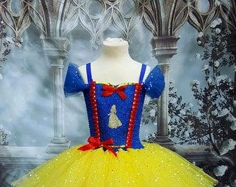 Snow white style tutu dress