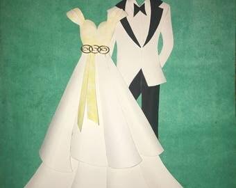 Custom Wedding Art
