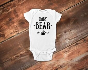 Baby Bear Onesie®, Baby Boy Clothes, Baby Shower Gift, Cute Baby Onesie®, Funny Baby Onesie®, Boho Baby Onesie®, Funny Baby Clothes,