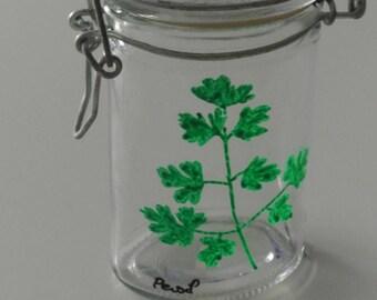 Spice jar - range Spice - jar for storing parsley